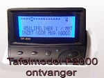 TP 100  Basic TafelPager voor P2000 systeem