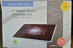 Viewpia Android 4.0  7 inch Tablet Super Slim Housing TB-207